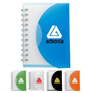 3x4.5 Custom Imprinted Post Spiral Notebooks