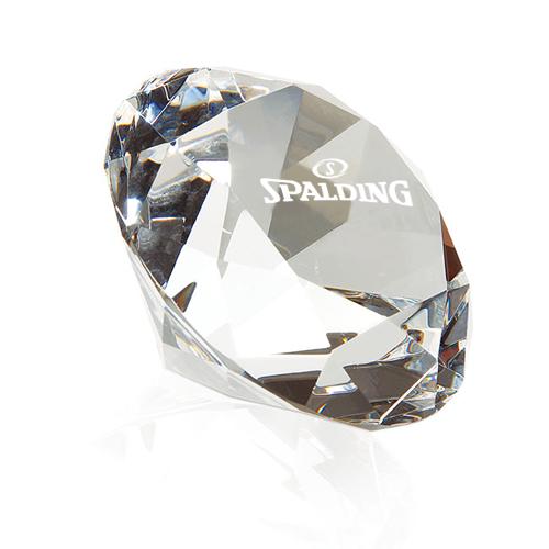customized jaffa diamond paperweights