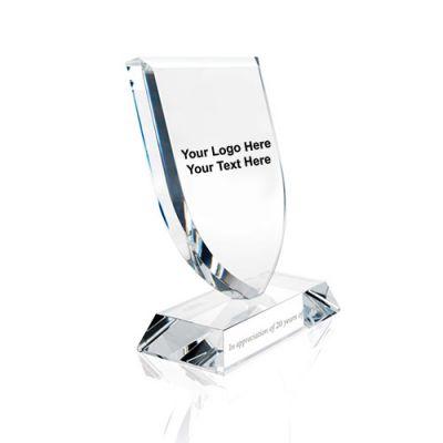 Logo Imprinted Jaffa Shield Awards
