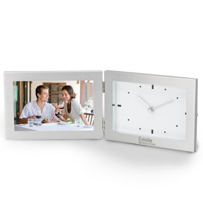 Custom Printed Antimo Clock And Photo Frames