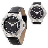 Custom Silver Metal Case High Tech Men's Watches