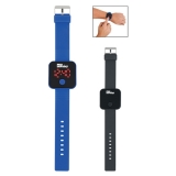 Custom Printed Square Unisex Digital Led Watches