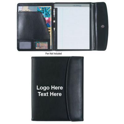 8.5 X 11Custom Printed Leather Look  Portfolios