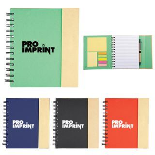 Promotional Logo Lock-it Spiral Notebooks