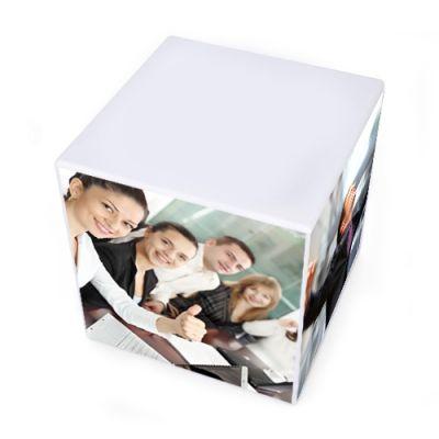 2 3/4 x 2 3/4 x 2 3/4 Inch Custom Sticky Memo Cubes