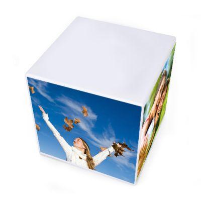 3 3/8 x 3 3/8 x 3 3/8 Inch Customized Sticky Memo Cubes