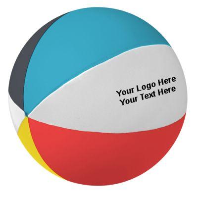 Custom Beach Ball Stress Relievers