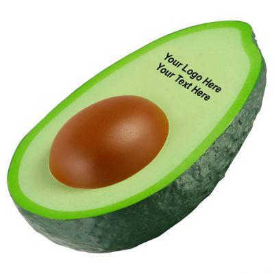 Custom Imprinted Avocado Shaped Stress Relievers