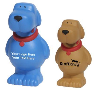 Custom Printed Cartoon Dog Stress Relievers