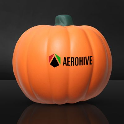 Custom Printed Pumpkin Shaped Stress Relievers