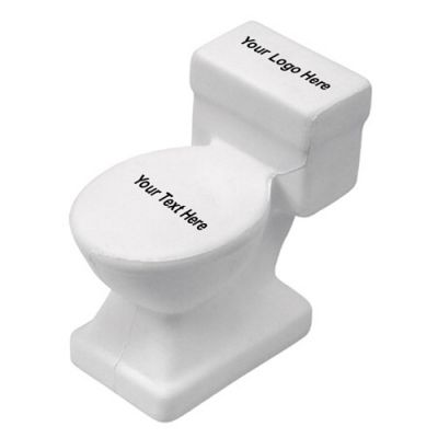 Custom Printed Toilet Shaped Stress Relievers