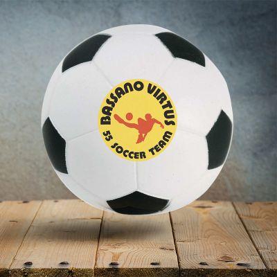Custom Soccer Ball Stress Relievers