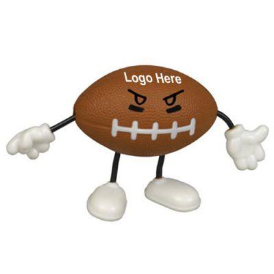 Customized Football Figure Stress Relievers