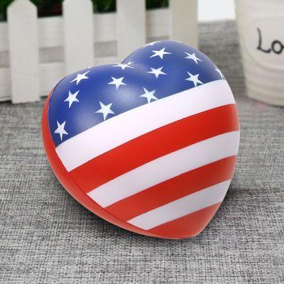 Customized Patriotic Valentine Hearts