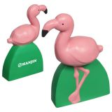 Custom Logo Imprinted Flamingo Stress Relievers
