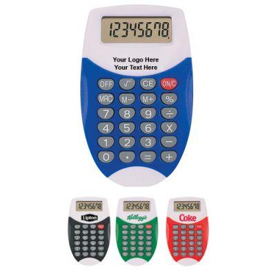 Promotional Oval Calculators