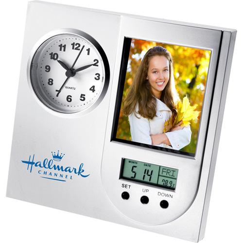 promotional logo excelsior photo clocks