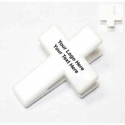 Promotional Cross Shape Magnetic Memo Clip Holder