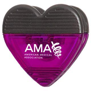 Promotional Jumbo Size Heart Shape Memo Clips