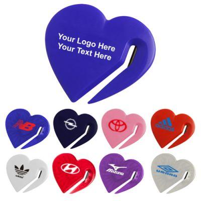 Custom Printed Heart Letter Slitters