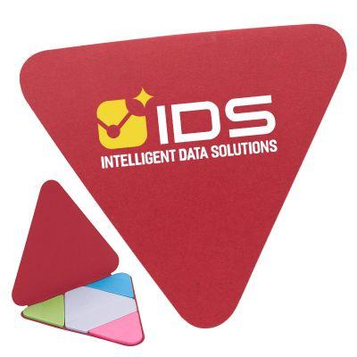 Triangle Shape Sticky Note Pads
