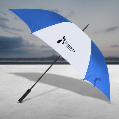 60 Inch Arc Custom Printed Logo Lightweight Umbrellas
