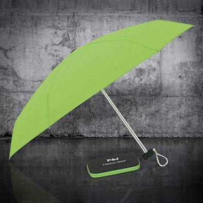37 Inch Arc Customized Logo Mini Travel Umbrellas with Case