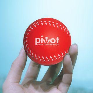 Customized Baseball Shaped Stress Balls