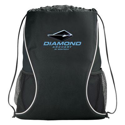 Custom Imprinted Boomerang Drawstring Sportspacks