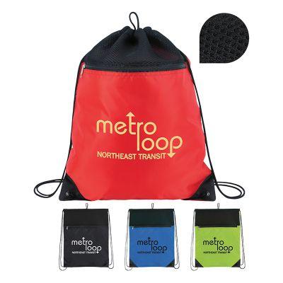 Custom Imprinted Court Drawstring Bags
