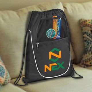 Personalized Polypropylene Drawstring Cinch Backpacks