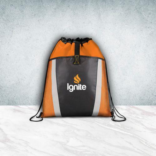Promotional Polypropylene Drawstring Cinch Backpacks