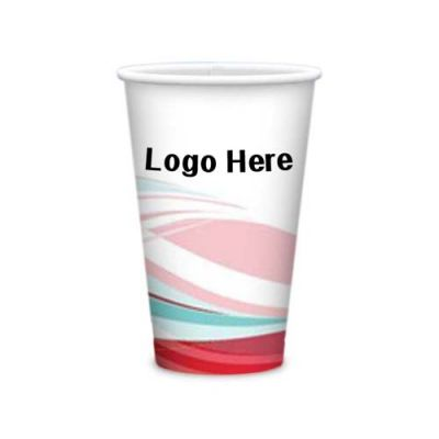 16 Oz Custom Imprinted Tall Heavy Duty Paper Hot Cups