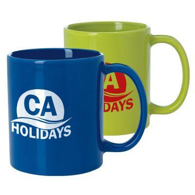 11 Oz Custom Printed Budget Mugs