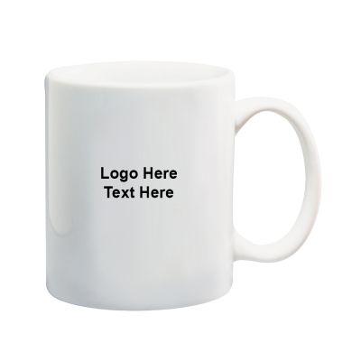 11 Oz Custom Printed Vitrified Ceramic Mugs