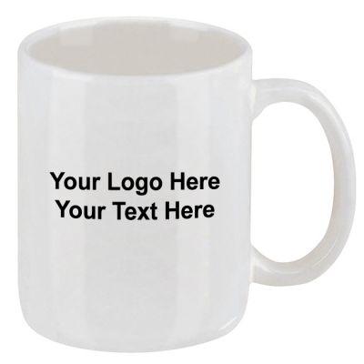 Customized Classic 11 Oz Ironstone Mugs – White