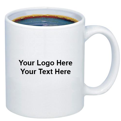 Custom Printed 11 Oz Budget Coffee Mugs