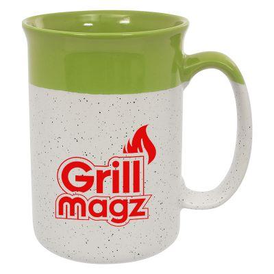 13 Oz Custom Printed Speckled Mugs