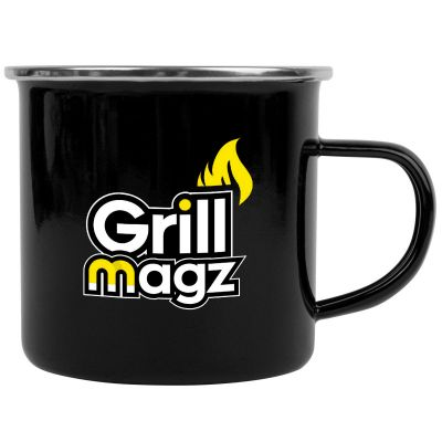 13 Oz Promotional Stainless Steel Enamel Campfire Mugs