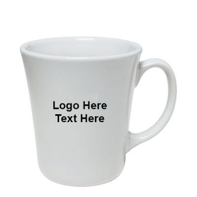 Custom Imprinted 14 Oz Bahama Ceramic Mug - White