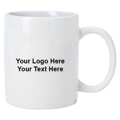 11 Oz Custom Printed Good Value Notepad Mugs