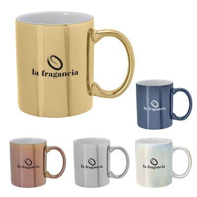 12 Oz Iridescent Ceramic Mugs