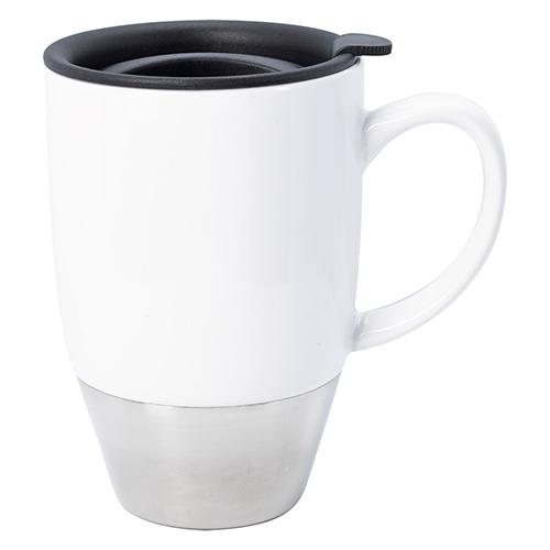 29f126a56cdf Customized 13 Oz Stainless Steel Dipped Ceramic Mugs - Ceramic Mugs