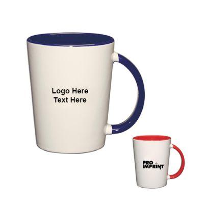 Promotional 12 Oz Capri Ceramic Mugs