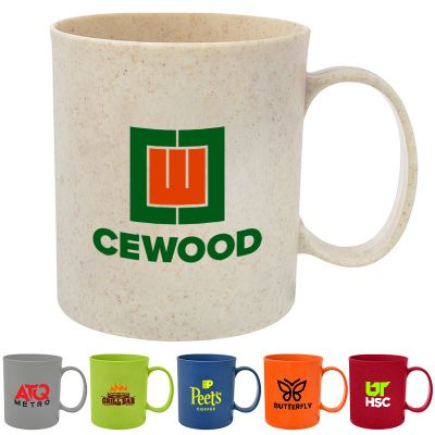Promotional 12 Oz Wheat Mugs