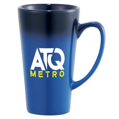 14 Oz Cafe Tall Latte Ceramic Mugs