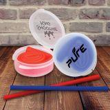 Customized Reusable Silicone Straws in Portable Case