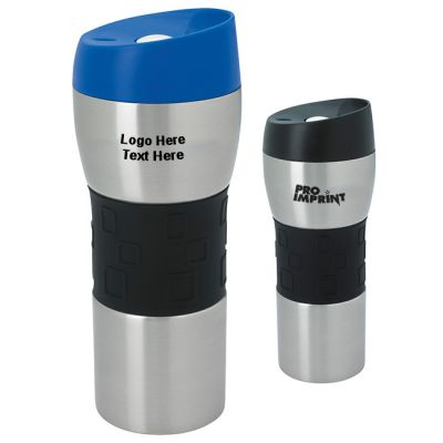 Promotional 16 Oz Stainless Steel Tumblers with Grip
