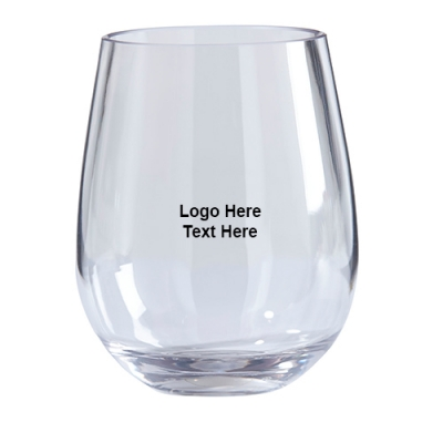 Promotional Tritan Stemless Wine Glass 2 Piece Sets
