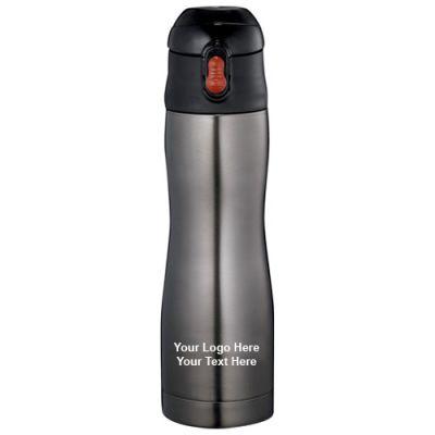 Custom 17 Oz Zippo Stainless Thermos Bottles